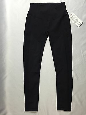 Lululemon Women All The Right Places Pant II Leggings Black LUXTREME Size 8