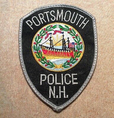 NH Portsmouth New Hampshire Police Patch