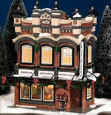 Department 56 Snow Village FROST AND SONS 5 & DIME 55047 BNIB Retired Five and