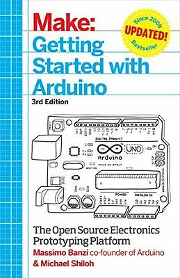 Getting Started with Arduino by Massimo Banzi New Paperback Book