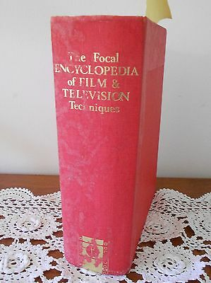 The Focal Encyclopedia Of Film & Television Techniques Book 1St Ed. 1969