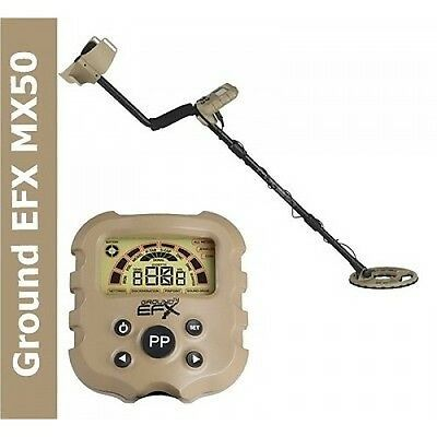Metal Detector Ground EFX MX 50 search Metal Coins Iron