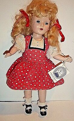 "American Character Doll Company SWEET SUE Walker 14"" Blonde Wig"