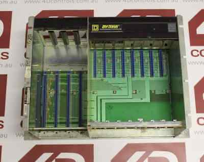 Symax / Square D 8030 HRK-150 8 Slot Rack Chassis - Used - Series C1