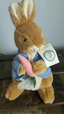 beatrix potter peter rabbit plush 100th Anniversary  limited edition 14""