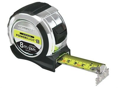Komelon MPT826E PowerBlade Pocket Tape 8m/26ft (Width 27mm)