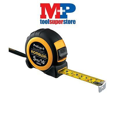 Komelon PER516E Superior ProErgo-R Pocket Tape 5m/16ft (Width 19mm)