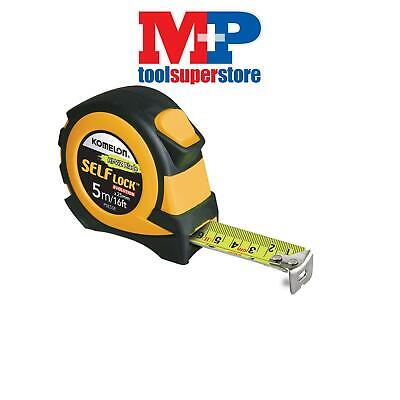 Komelon PSE516E Self Lock Evolution Tape 5m/16ft (Width 25mm)