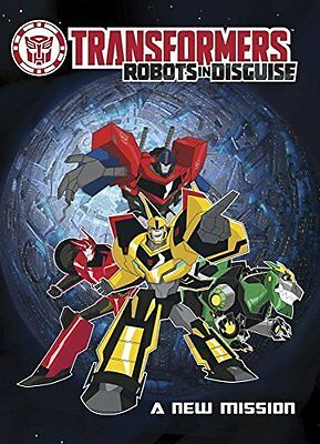 Transformers Robots In Disguise A New Mission by Adam Beechen New Paperback Book