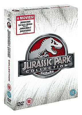 Jurassic Park DVD Collection Box Set Jurassic World R4 New Sealed