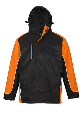 New UNISEX NITRO JACKET - BLACK/ORANGE/WHITE