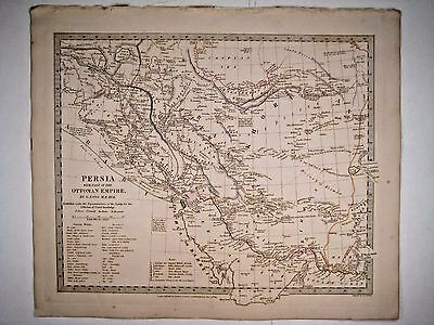 1831 SDUK: Map of Iraq & Iran (Persia with part of the Ottoman Empire)