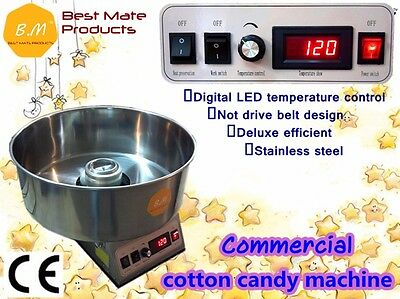 Electric Commercial Cotton Candy Floss Machine Party Store Tabletop Concession