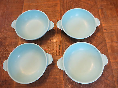 Vintage Plastic Bowls with winged handles