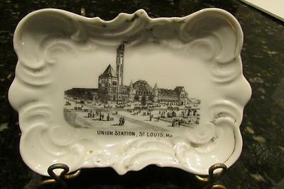 Early 1900s Victorian Pin Tray Union Station St Louis from World's Fair 1904