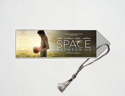 The Space Between Us - Asa Butterfield - Gary Oldman - Movie Poster Bookmark