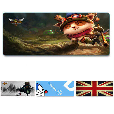 Large Size 800*400mm World Map Speed Game Mouse Pad Mat Laptop Gaming Mousepad*