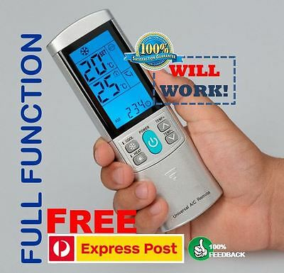 Best Universal Air Con Conditioner Remote Control - ALL Brands. 100% Feedback