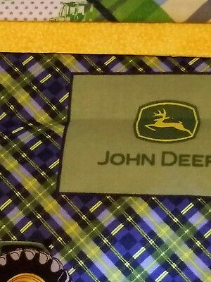 Embroidered Personalized STANDARD Pillowcase  John Deere