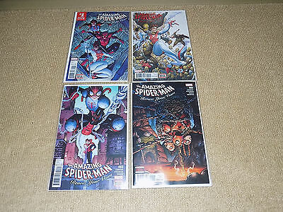 4 Marvel Comics, The Amazing Spider-Man Renew Your Vows #1 - 4, First Print, Nm