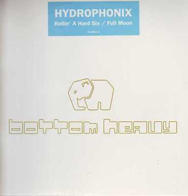 "12"" Us Breakbeat**hydrophonix - Rollin A Hard Six (Bottom Heavy '99)***3410"