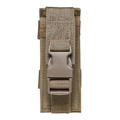 NcStar TAN Single M9 Pistol Mag or Flashlight Multi-Tool MOLLE Holster Pouch