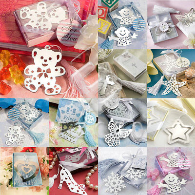 Owl/Angel Eagles/Music Note Alloy Tassel Bookmark Label With Ribbon Box As Gift