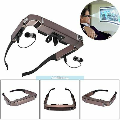 """VISION-800 720x540 Smart Android WiFi 3D VR/AR Video Glasses 5MP HD Camera 80"""""""