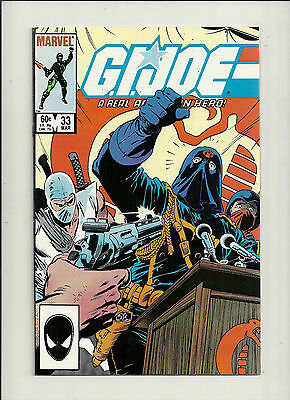 GI Joe  #33  VF+