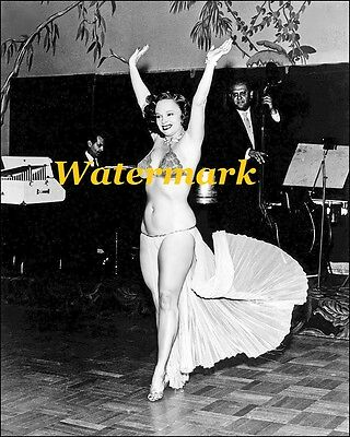 Betty Rowland 1950s Pinup Girls, Burlesque Dancers-Photo