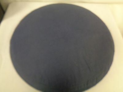 """Circular Lace Making Cushion 17 1/2"""" In Diameter With Cloth Bag     (Tr)"""