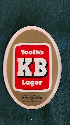 Early Tooth's KB Beer Label