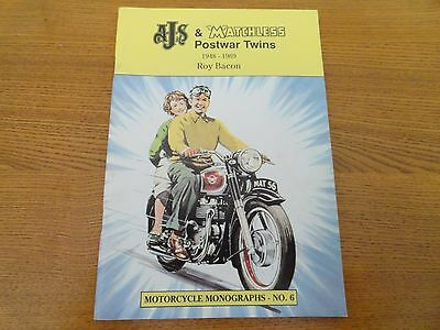 bbAJS & Matchless Postwar Twins 1948-1969 by Roy Bacon