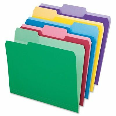 Pendaflex 1/3-Cut Top Tab Assorted File Folders with Erasable Tabs 30 Pack 84370