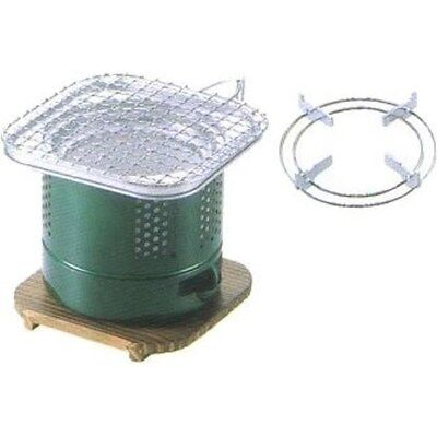 CAPTAIN STAG Charcoal stove barbecue BBQ water-cooled mini earthen charcoal