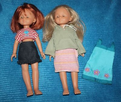 Corolle Les Cheries Clara and Camille Dolls 2001