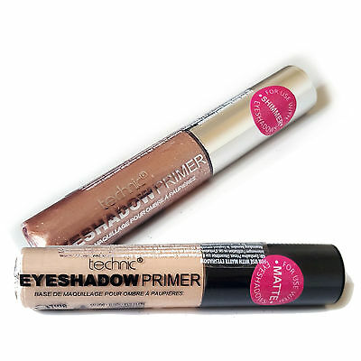 Technic Eyeshadow Eye Shadow Primer, Base, Long Lasting for Shimmer or Matte