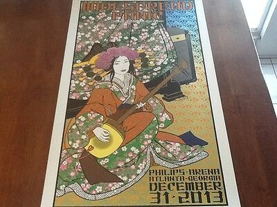 Chuck Sperry Widespread Panic poster Atlanta NYE 2013 AP MINT CONDITION PERFECT