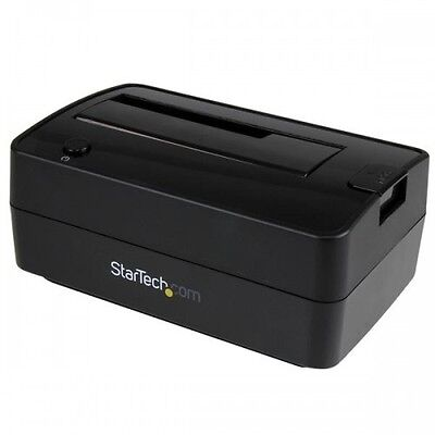 "NEW!  Startech.Com Drive Docking Station for 2.5 / 3.5"" Sata Drives - Usb 3.1 Us"