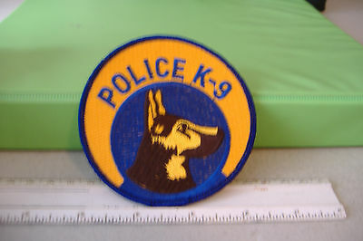 ~Police K-9  ~Fabric Patch~