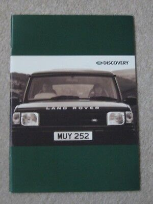 1995 Land Rover Discovery Brochure