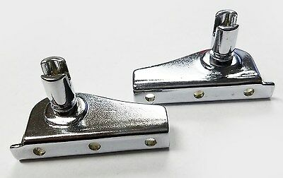 Vent Window Bracket Set 1949-60 Ford Car & Pickup CHROME