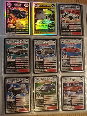 200 Top Gear Turbo Challenge Extra Cards including super rare and rare