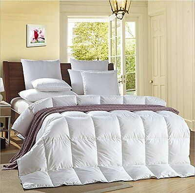 LUXURY GOOSE  FEATHER & DOWN DUVET QUILT 13.5 TOG Single Double King Super King