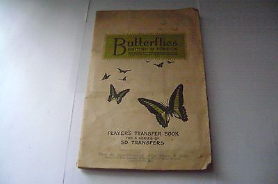 Butterflies British & Foreign Full Album & Cards By John Player & Sons