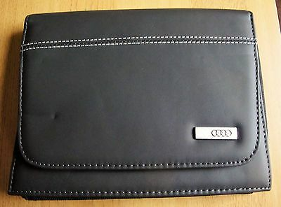 Genuine Audi Deluxe Owners Service Handbook Book Wallet S8 A8