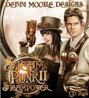 Debbi Moore Designs Steampunk 2 Steampower CD (322374)