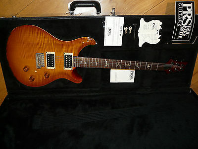 Prs Custom 24 10 Top Figured Maple -  In Own Case