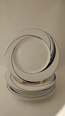 Block Spal Jewels White Pearl by Jack Prince Set of Six Bread & Butter Plates
