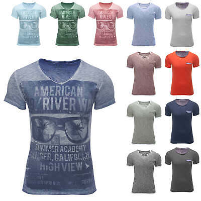 NEU Key Largo Herren T-Shirt Shirt Kurzarm Kurzarmshirt Basic/Print Color Mix %